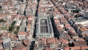 1_Projecto Mercado Bolhão - vista aérea