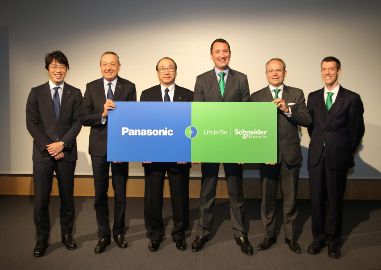 Signing Ceremony of Schneider ElectricPanasonic Partnership to Optimize ...